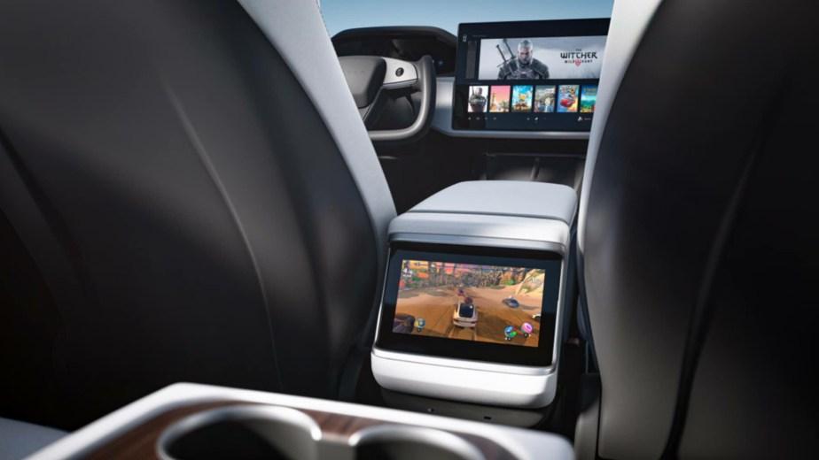 Arrière Tesla Model S