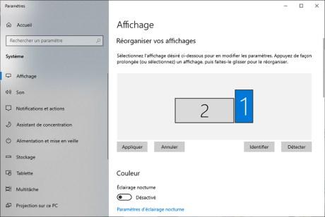 Comment gérer le multiscreen sous Windows 10 intro