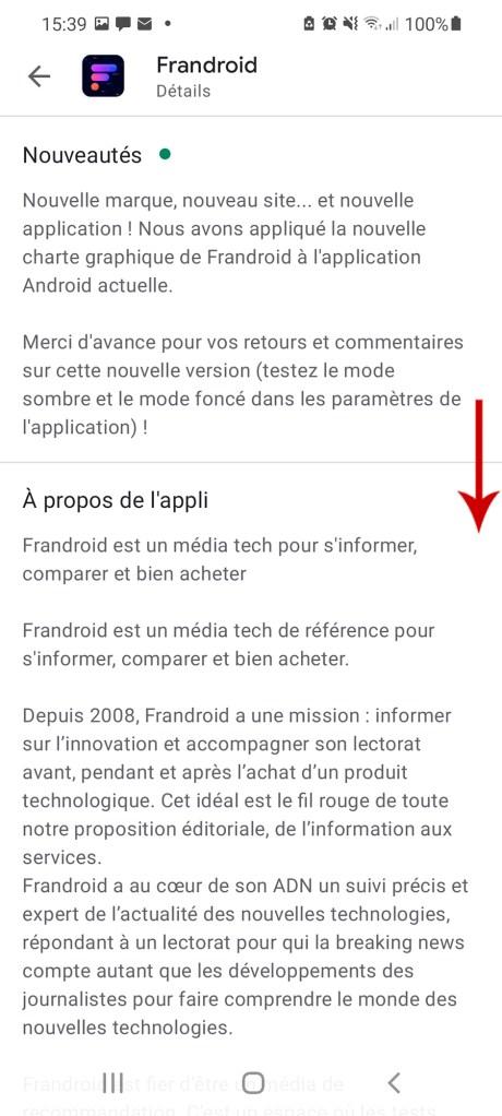 Comment télécharger une appli à partir du Google Play Store et sans le Play Store 05-02