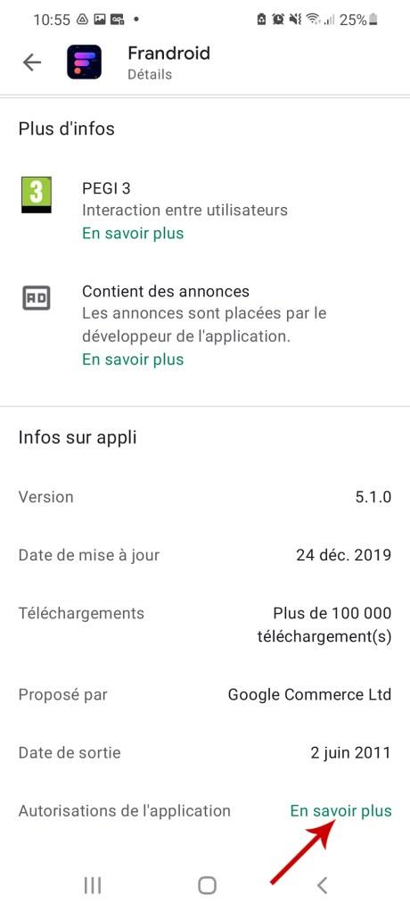 Comment télécharger une appli à partir du Google Play Store et sans le Play Store 05-03