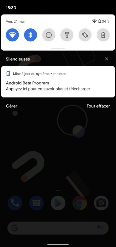 Install Android 12 beta 1