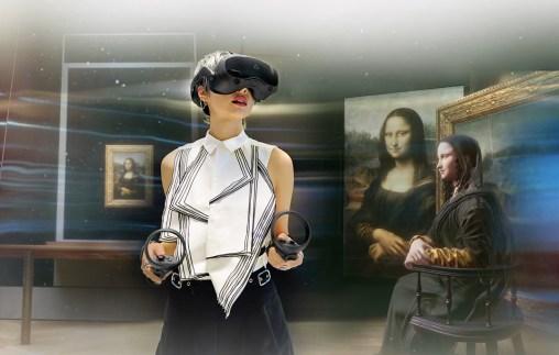 Le casque HTC Vive Focus 3 peut servir à visiter des musées comme si vous y étiez