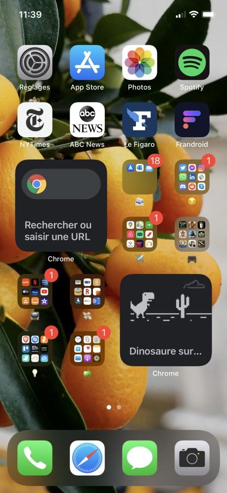 Widget iOS Chrome-5