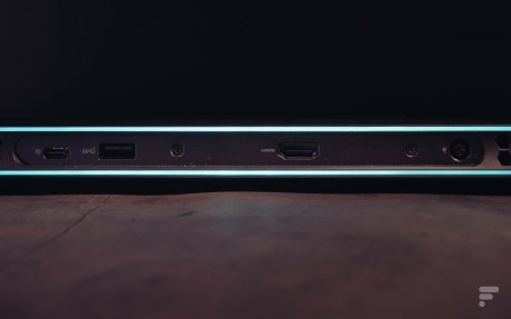 L'unique usb-C se trouve à l'arrière du châssis. // Source : Frandroid - Anthony Wonner
