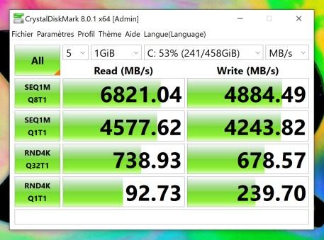 Capture DISKmark SSD 1