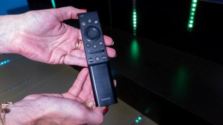 La télécommande est semblable à celle du QN95A / Source : David Nogueira