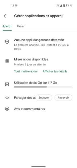 Google Play Store francais nouvelle interface 3