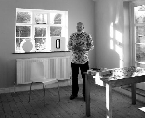 Le producteur et musicien Brian Eno // Source : Cecily Eno
