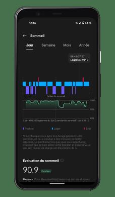 OnePlus Health - Suivi du sommeil + SpO2