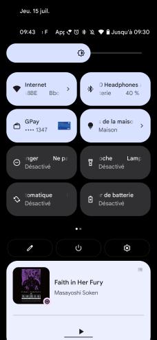Android 12 Beta 3 captures ecran (7)