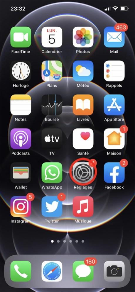 Comment changer son fond d'écran sur iPhone 01