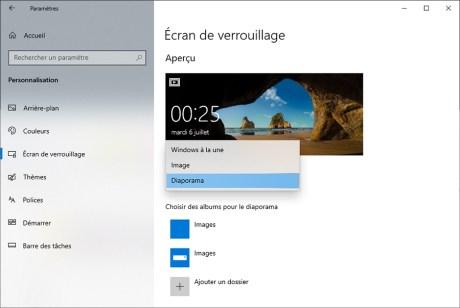 Comment personnaliser l'écran de verrouillage Windows 10 03