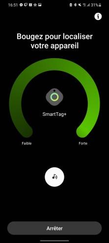 Sur un smartphone non compatible, le bouton ouvrant l'option AR ne sera pas proposé.