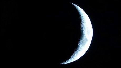 Aucun effet de blooming sur cette lune.
