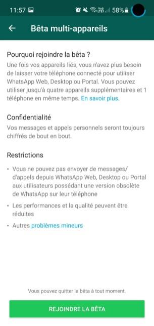WhatsApp Multi-Appareil 5