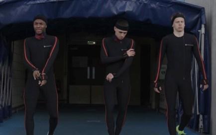 La tenue Xsens pour faire de la motion capture dans FIFA 22 avec HyperMotion