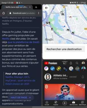 Galaxy Z Fold 3 multitâche 1