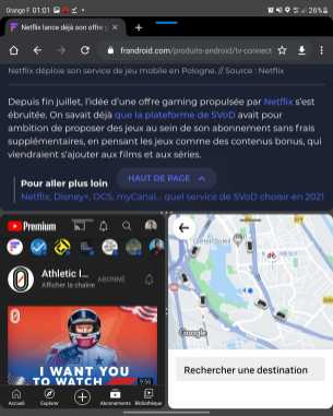 Galaxy Z Fold 3 multitâche 3