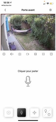 Vous pouvez interagir vocalement à l'aide de la caméra // Source : Frandroid - Yazid Amer