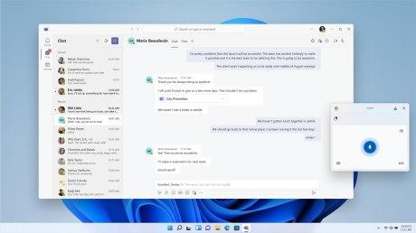 Microsoft Teams sur Windows 11