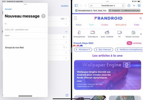 Comment gérer le multifenêtre sur iPad 36