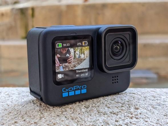 GoPro Hero 10 Black - Écran avant