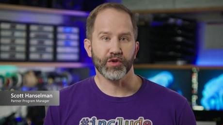 #MicrosoftEvent Live 45-27 screenshot