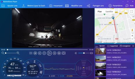 Il est possible de modifier la vidéo en jouant sur la luminosité ou réaliser un montage // Source : Frandroid - Yazid Amer
