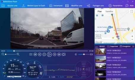 MyNextBase Player est tout aussi complet que l'app mobile et surtout plus pratique // Source : Frandroid - Yazid Amer