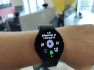 Spotify peut être installé sur la Watch 4. // Source : Frandroid