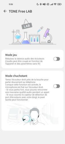 L'app LG Tone Free intègre des fonctions avancées.