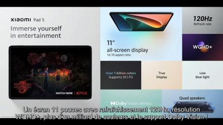 Xiaomi Lancement de produits Septembre 2021 1-31-20 screenshot