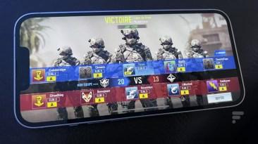 L'affichage de Call of Duty Mobile est mieux adapté // Source : FRANDROID - Melinda DAVAN-SOULAS