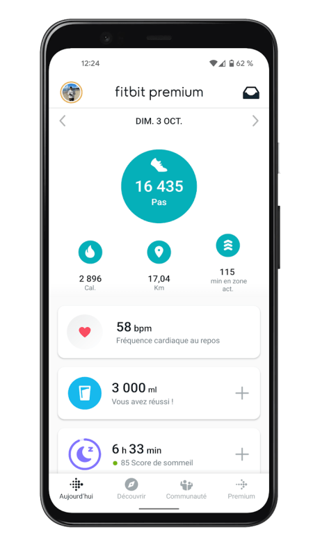 Fitbit Charge 5 - Application - Home (1)