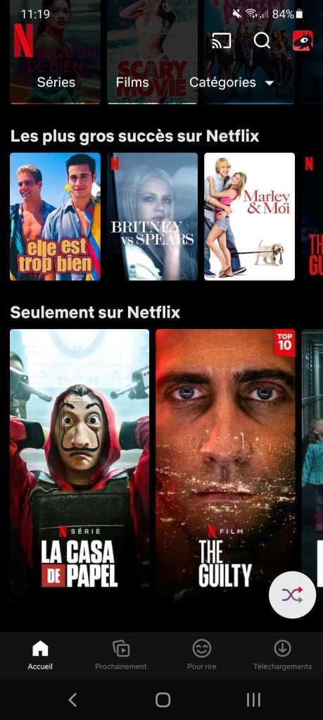 Netflix ne veut pas vous laisser sans contenu à lire // Source : Frandroid