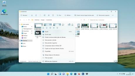 Windows 11 Test explorateur de fichiers (3)