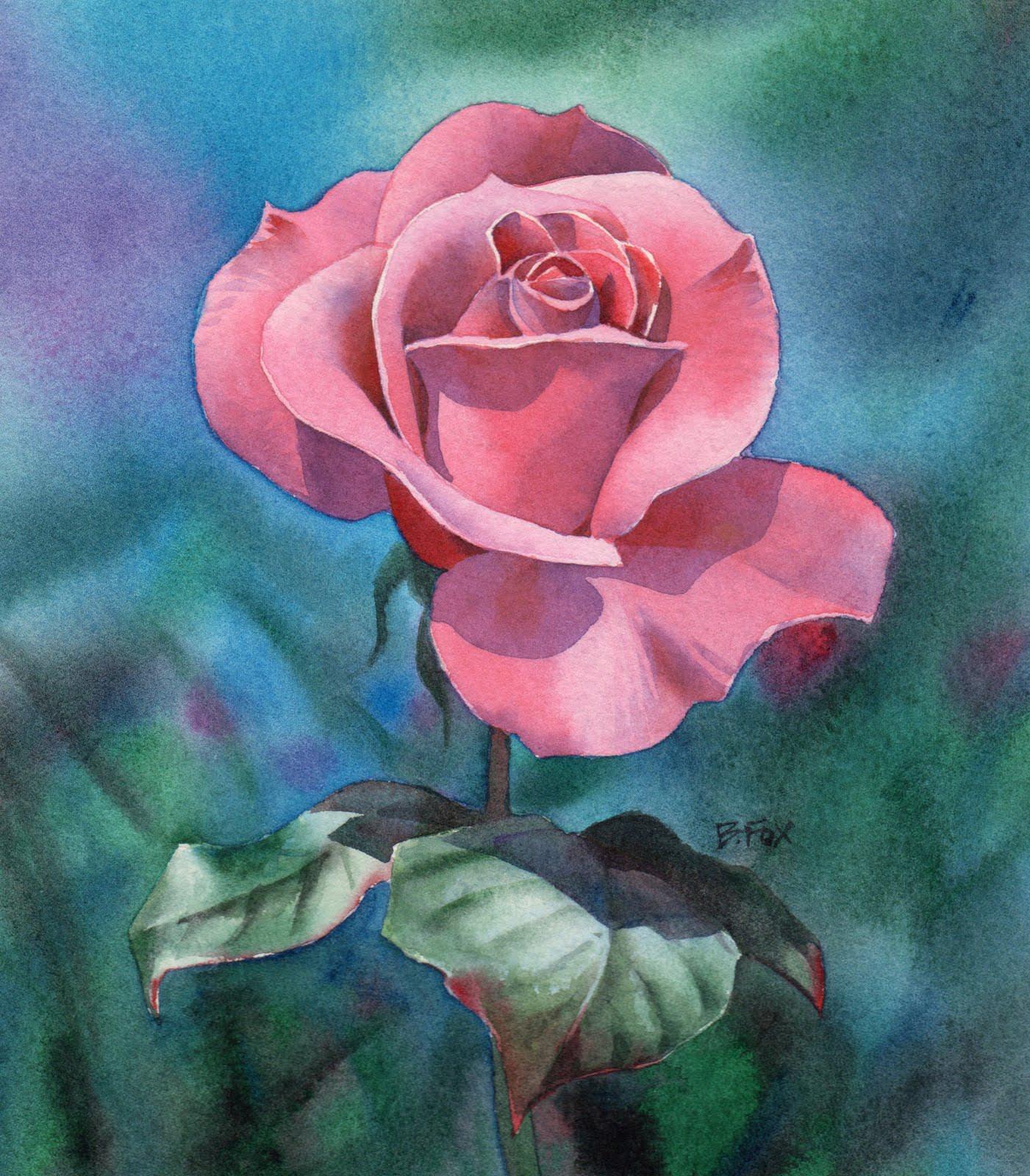 Simple pretty flower paintings mightylinksfo