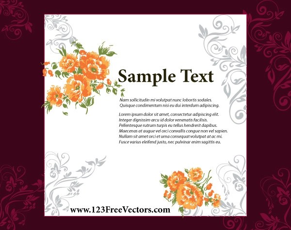 Invitation Card Blank Wedding Templates Enement Cards