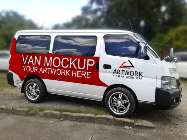 Download 14 Free Vehicle Branding Mockup PSDs