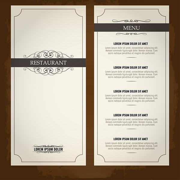 Restaurant Food Menu List