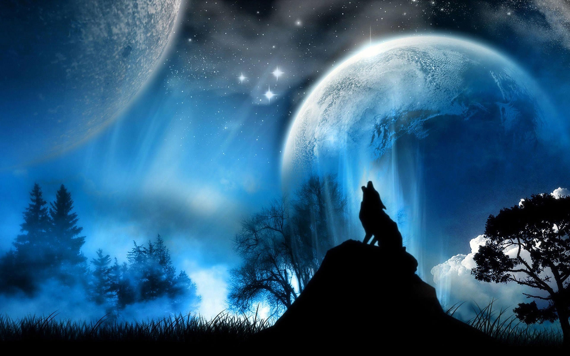 Free 20 Best Moon Desktop Wallpapers In Psd