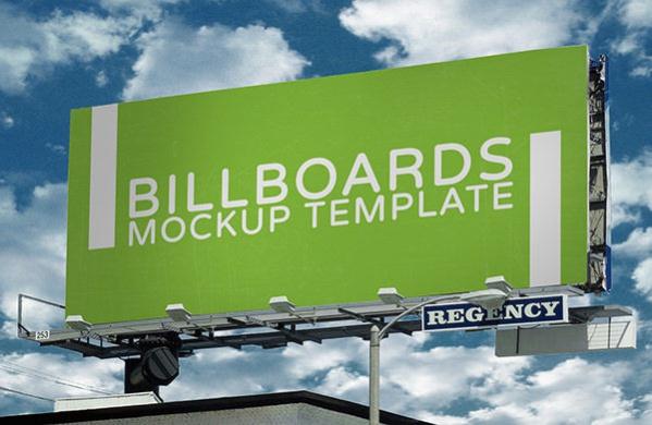 8 Photorealistic Billboard Mockup PSDs Free Download