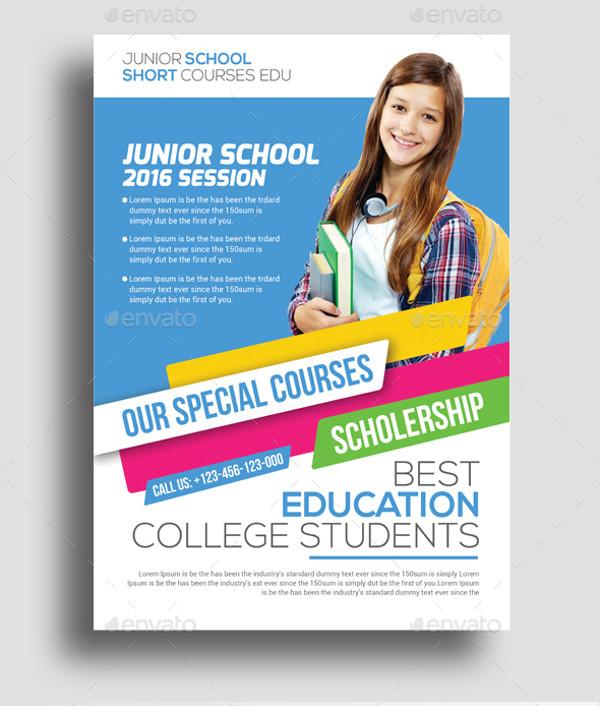 35 Amazing Education Flyer Templates Creatives Psd