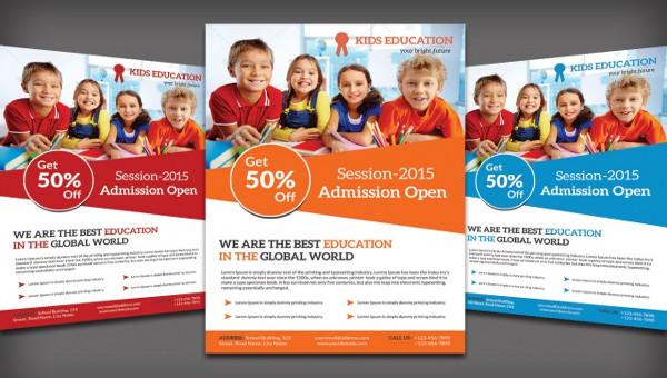 34 School Flyer Templates Psd Vector Eps Jpg Download