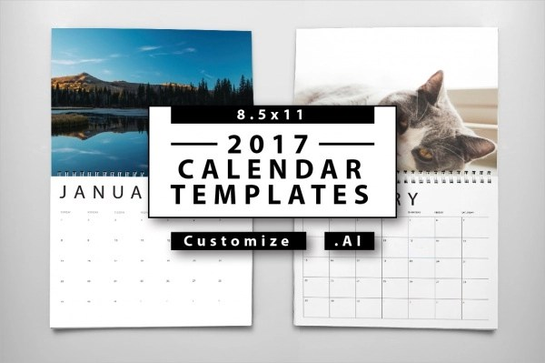 20 Yearly Calendar Templates PSD Vector EPS Download