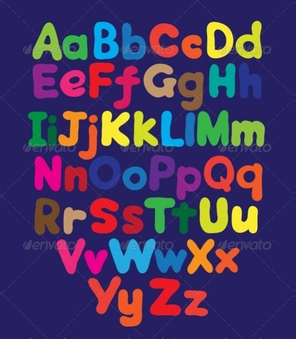 Free 17 Bubble Letters In Psd Vector Eps