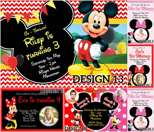 free 6 minnie mouse birthday