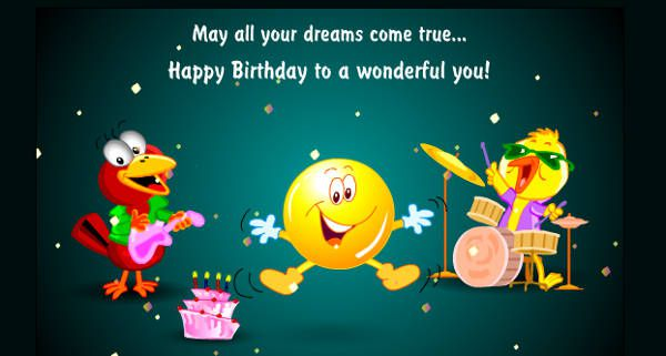 Free 9 Animated Birthday Cards In Psd Ai Vector Eps
