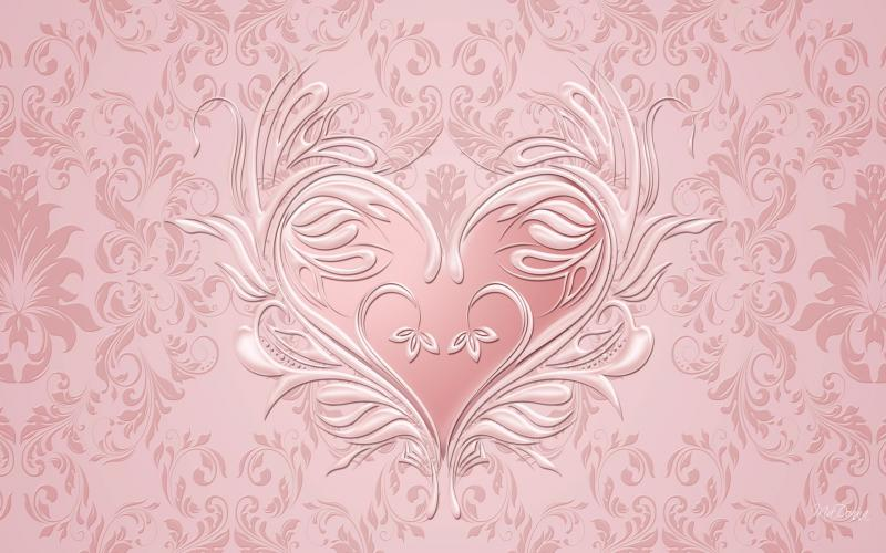 HD Pink Pearl Valentine Wallpaper Download Free 74382