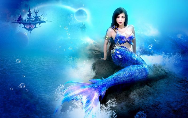 Mermaid 3d Laptop Wallpapers